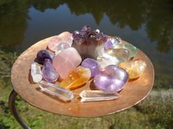 Crystal Singing Bowls - Crystals