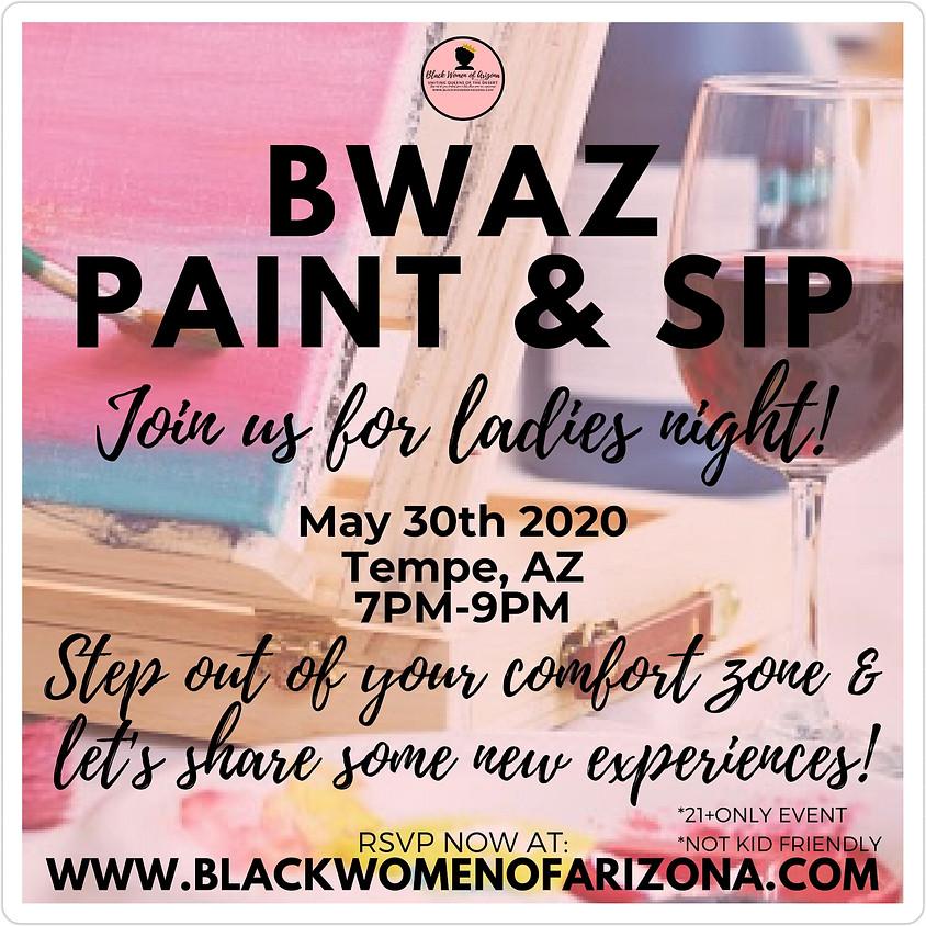 BWAZ Paint & Sip 2020