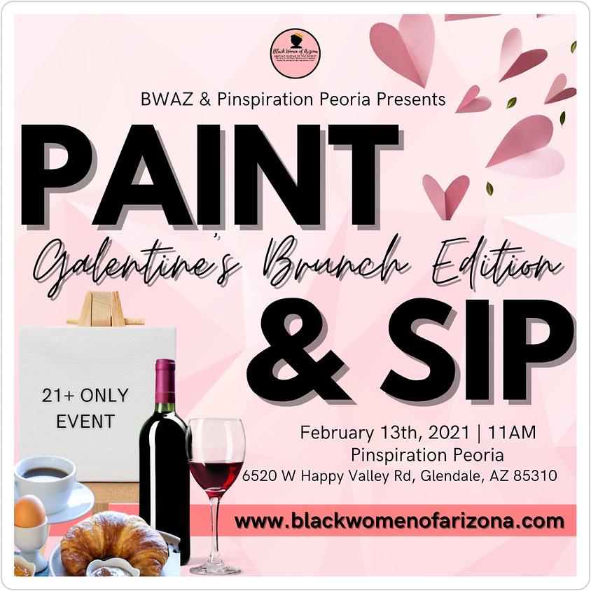 BWAZ Paint & Sip (Galentine's Day Edition)