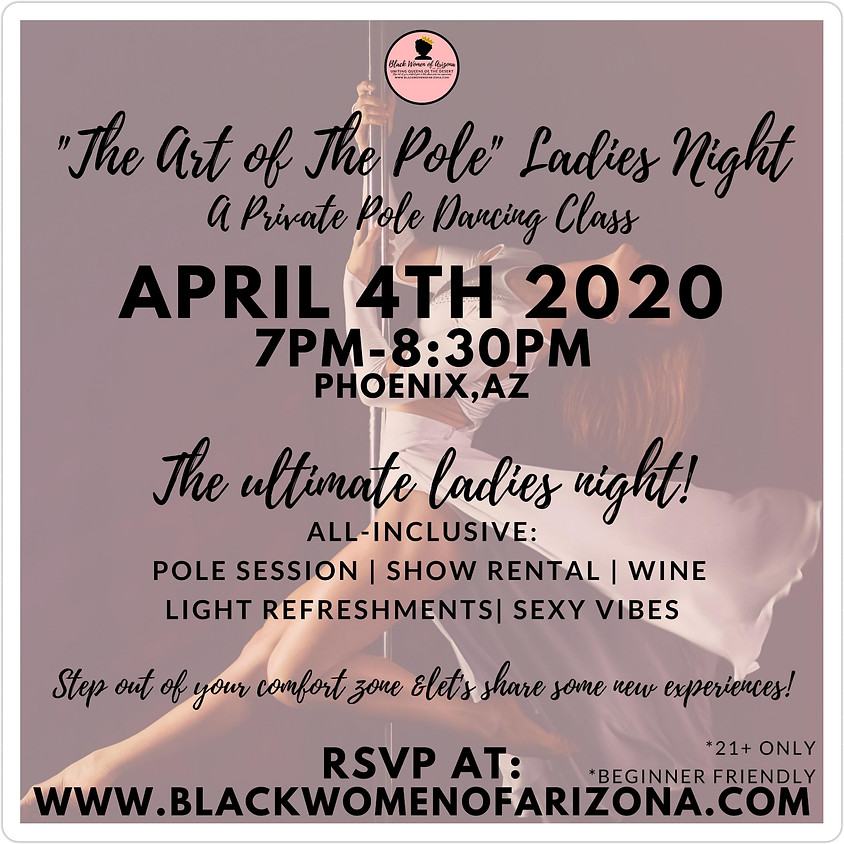 "BWAZ ""The Art of The Pole"" Ladies Night 2020"