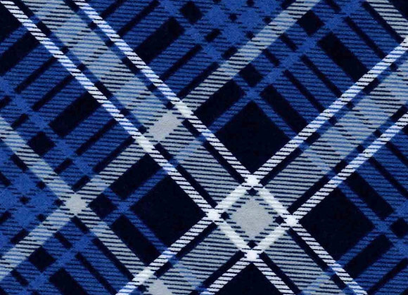 Blue road plaid (snuggle flannel)