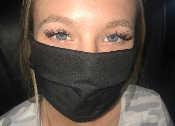 Triple layer blk mask with ties