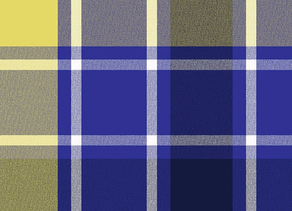 Bluish purple & yellow plaid (snuggle flannel)