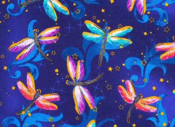 Bright dragonfly (snuggle flannel)