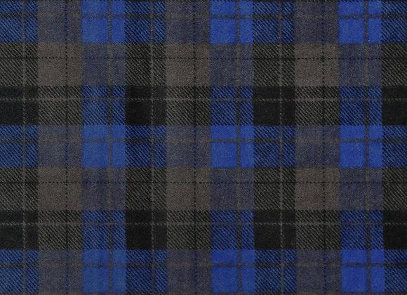 Blue & black plaid (snuggle flannel)