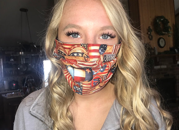 Route 66 mask 🇺🇸