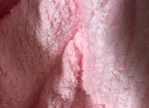 Pink Chenille Terry
