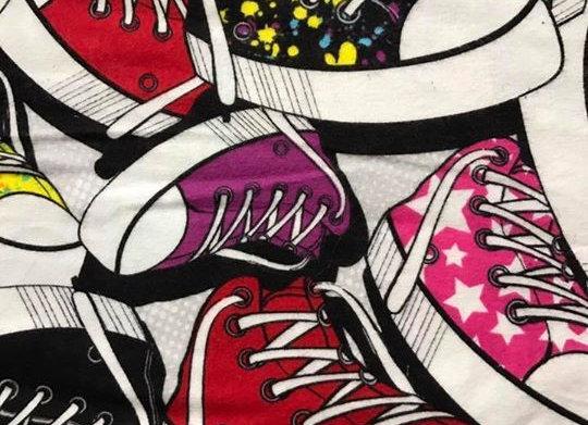 Converse  (snuggle flannel)