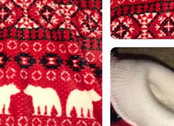 Red Bears Hip-poncho