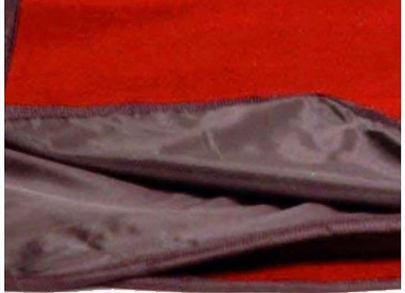 Rainproof Red Hip-poncho