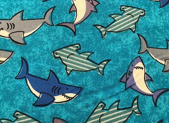 Teal sharks