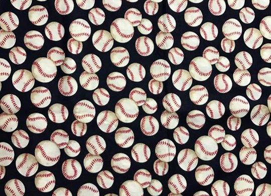 Navy Baseballs