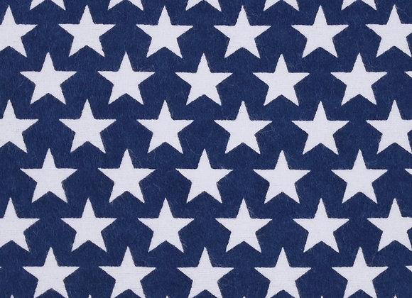 Flag stars (snuggle flannel)