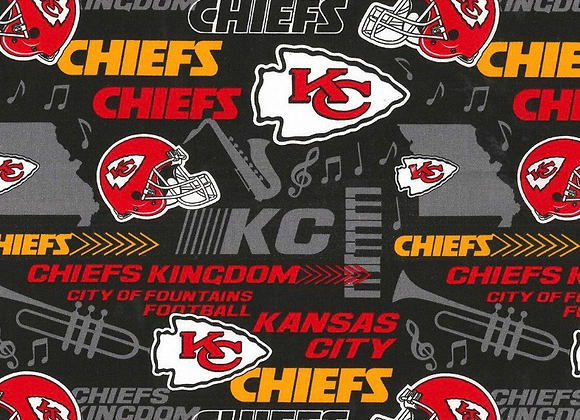 KC chiefs mask 🏈