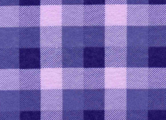 Lavender plaid (snuggle flannel)