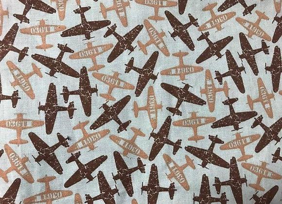 Brown, tan planes
