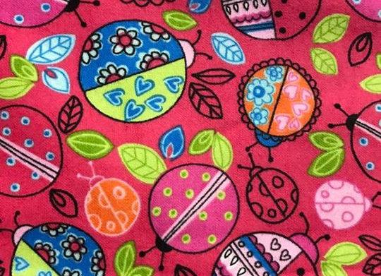 Ladybug (snuggle flannel)
