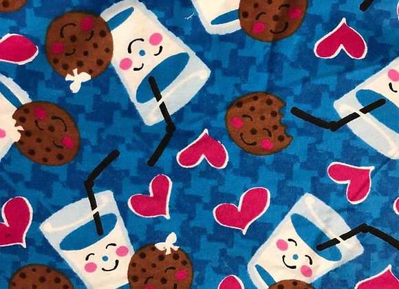 Milk and Cookies (snuggle flannel)