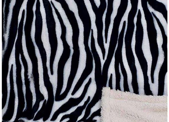 Zebra Hip-poncho