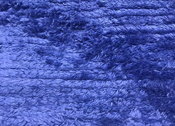 Royal blue Chenille Terry