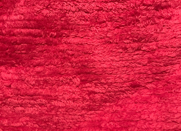 Hot pink Chenille Terry