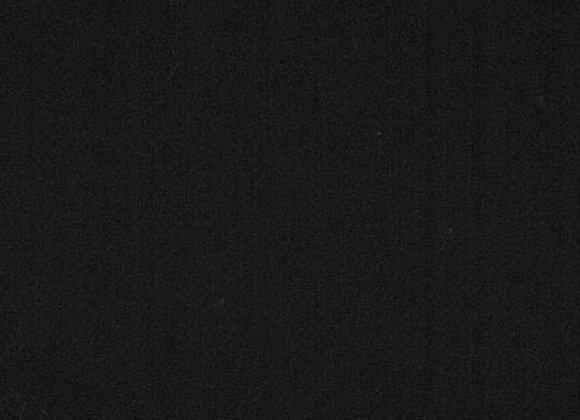 Black solid  (cozy flannel)