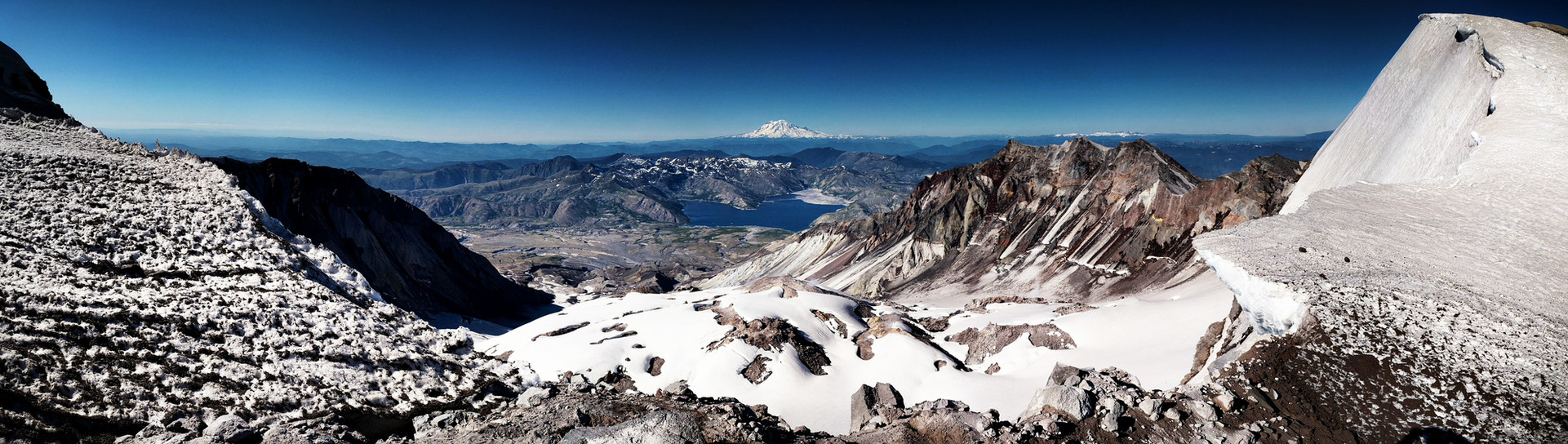 Mt. Saint Helens Crest, Wa