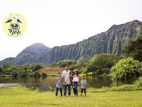 The Silva Family | 10.08.19 | Ho'omaluhia Botanical Gardens