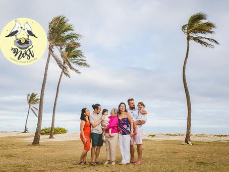 Grandma Gloria's Family Shoot | Barbers Point Beach