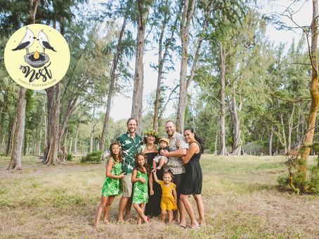 Long Extended Family Shoot | Waimanalo Bay Beach
