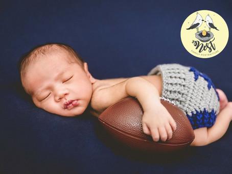 Jayceon Kade Newborn Shoot   01.14.20   In-Studio