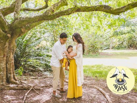 Our Videographers! | The Baas Family Maternity Shoot | Ho'omaluhia Botanical Gardens