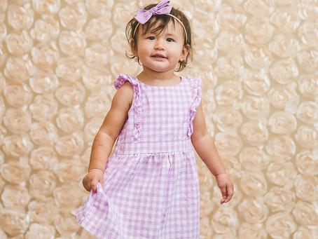 Baby EmiAnne's 18 Month Shoot | In-Studio
