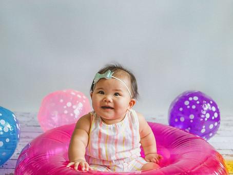 Baby Ally Himari 6 Month Shoot | In-Studio