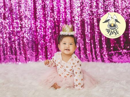 Baby Hope 6 Month Shoot | 02.28.20 | In-Studio