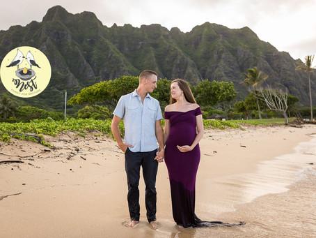 Kari + Anthony Maternity Shoot | 07.02.19 | Kualoa Regional Park