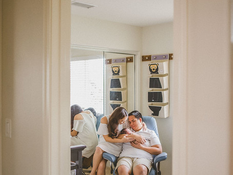 Our Photographer Had a BABY! | The Canoys | Lifestyle Newborn Shoot | In-Home