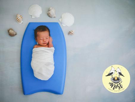 Nathan Katsumi's Newborn Shoot | In-Studio