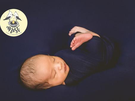 Kaden Lee Newborn Shoot   11.29.19   In-Studio