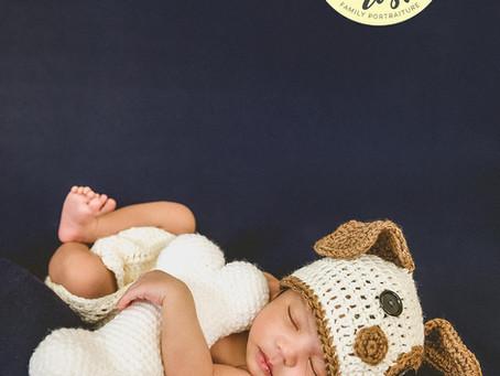 Landon Jaxton Newborn Shoot | 02.19.20 | In-Studio
