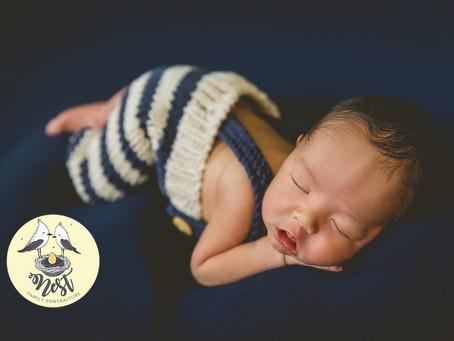Luther Newborn Shoot | 12.26.20 | In-Studio