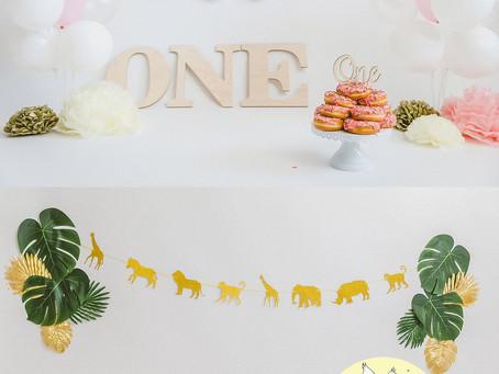 1st Birthday | Baby Styled Photoshoot