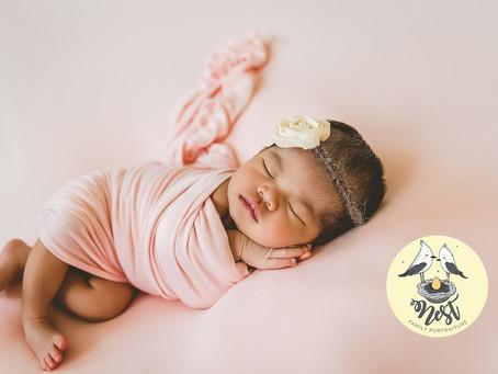 Amelia Victoria Newborn Shoot | 12.11.19 | In-Studio