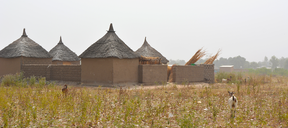 mud huts in Ngong, Northern Cameroon