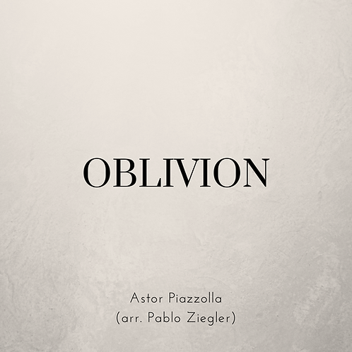 Oblivion (Piazzolla) - Two Pianos