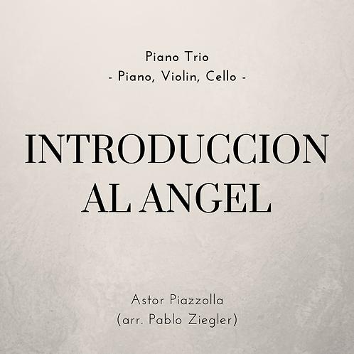 Introduccion al Angel (Piazzolla) - Piano Trio (Piano, Violin, Cello)