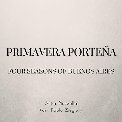 Primavera Porteña / Spring of Buenos Aires (Piazzolla) - Two Pianos