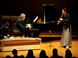 Collaboration between Tango and Japanese Traditional music produced by Yokohama Noh Theater