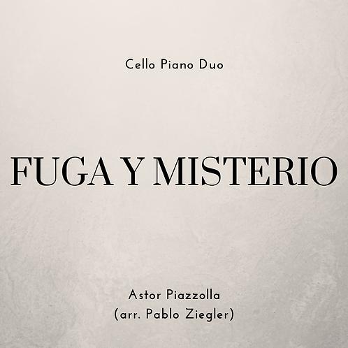 Fuga y Misterio (Piazzolla) - Cello Piano Duo