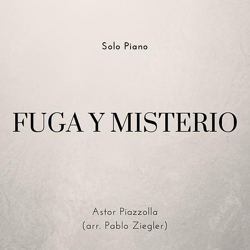 Fuga y Misterio (Piazzolla) - Solo Piano